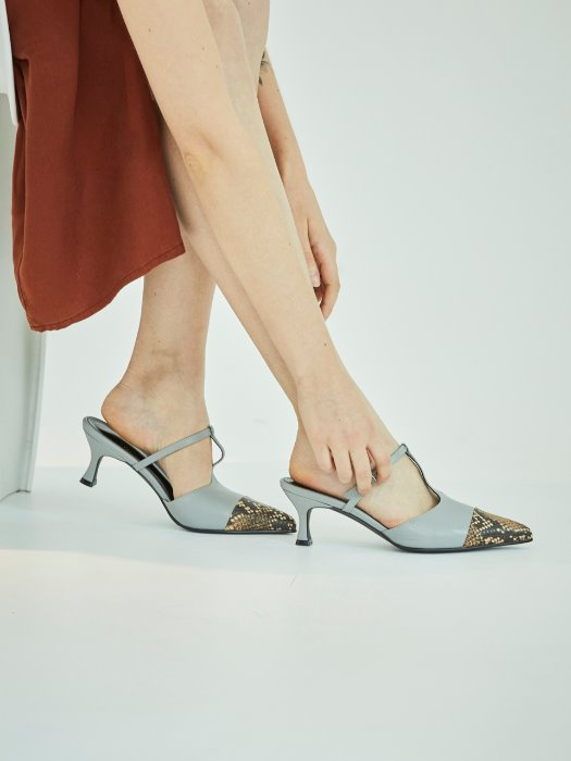 ws192033003- light gray pointed mule