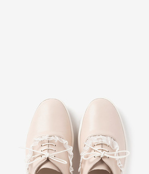 Lauren Girl sneakers- pink beige