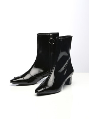 Soft Patent Boots