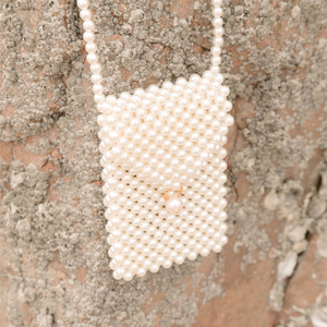 lovely pearl cross bag